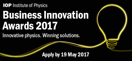 Call for entries for the IOP Business Innovation Awards ...